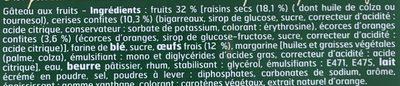 Cake Anglais - Ingrediënten - fr