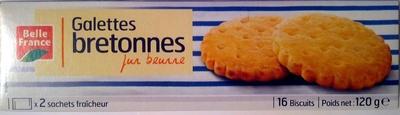 Galettes bretonnes - pur beurre - Produit - fr