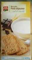 Biscuits Petit Déjeuner Chocolat/Céréales 400 g Lot de 5 - Product - fr