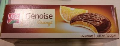 Génoise Orange - Product