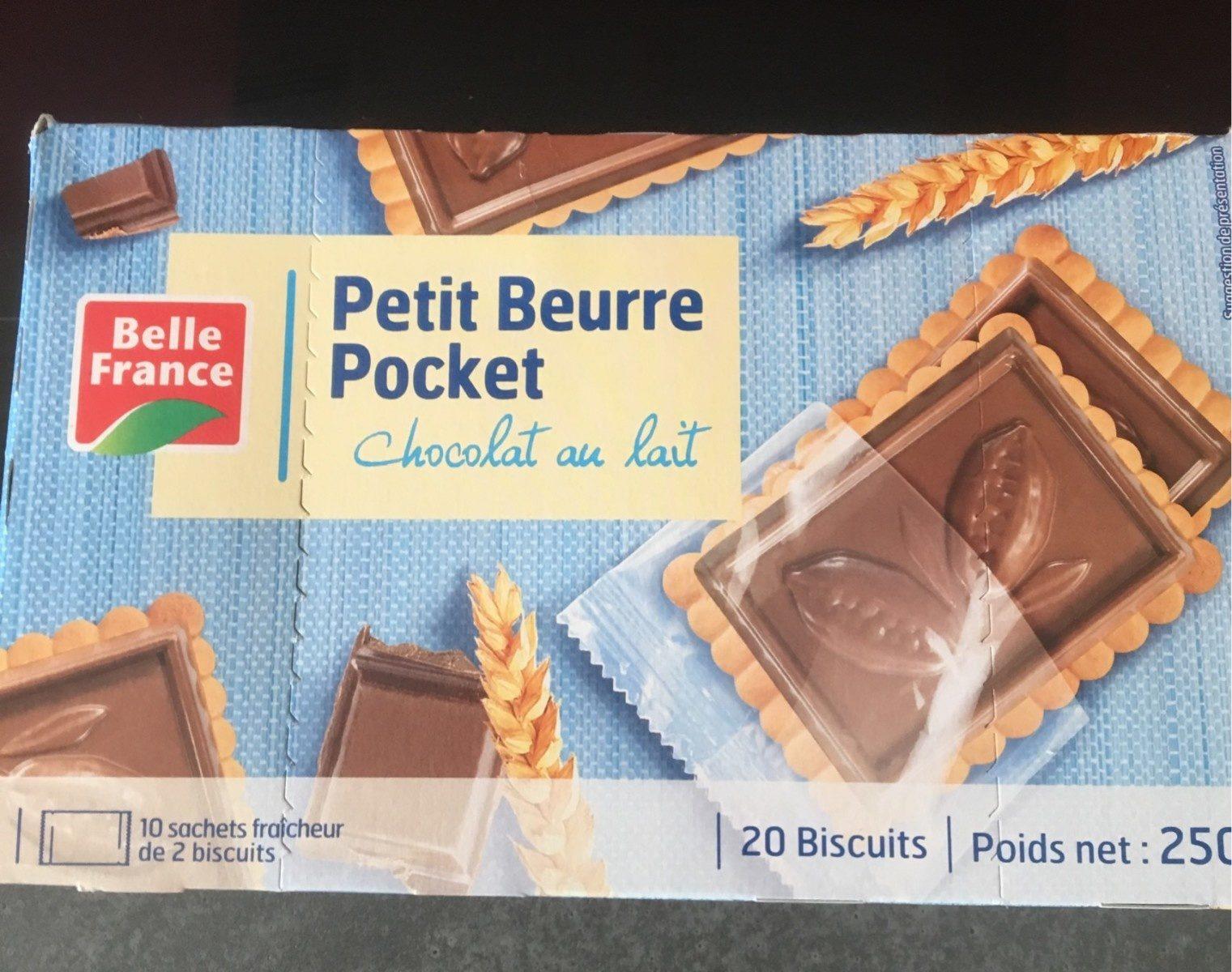 Petit Beurre Pocket Chocolat au Lait - Produit - fr