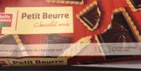 Petit Beurre+tablet.choco Noir 150G Belle France - Produit - fr