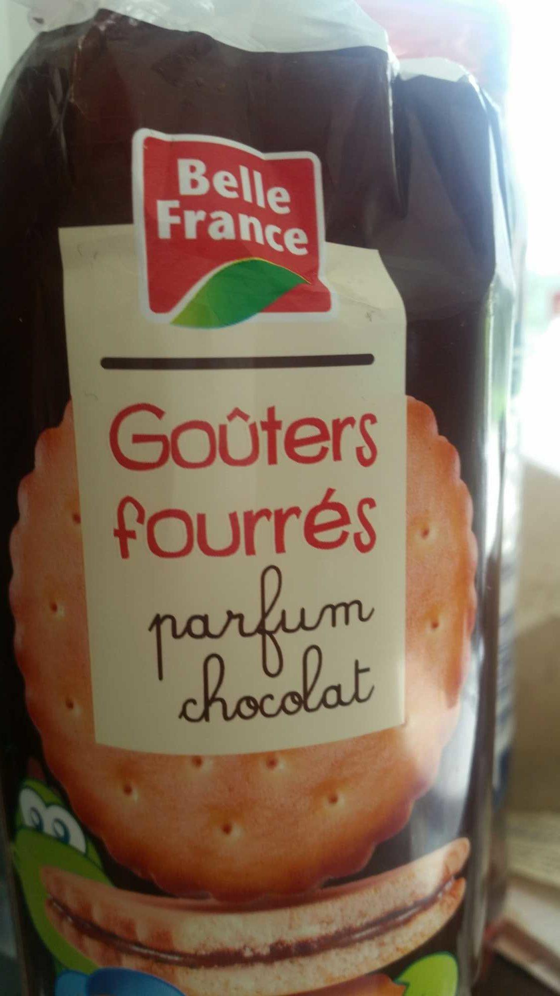 Goûters fourrés - Produit