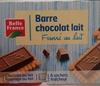 Barre chocolat au lait - Produit