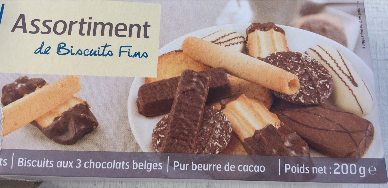 Assortiment de Biscuits Fins - Product - fr