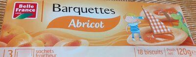 Barquettes Abricot - Produit