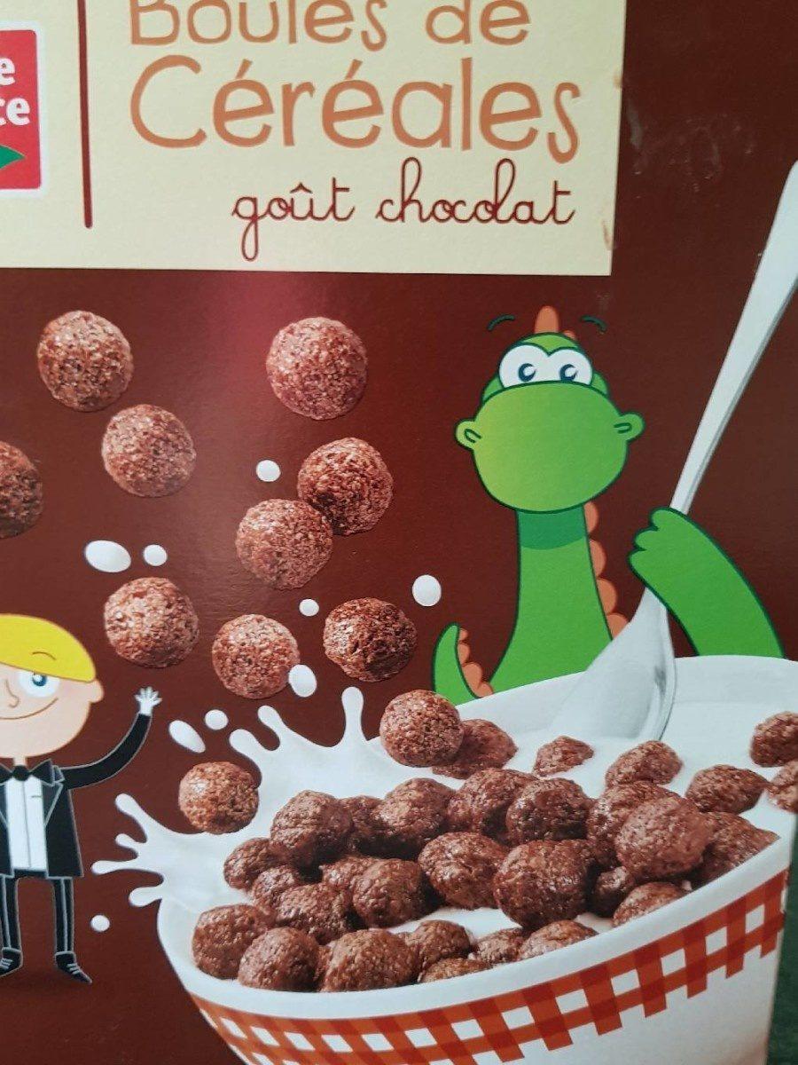 Boules de céréales goût Chocolat - Produit - fr