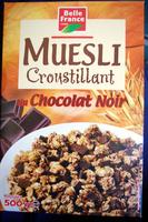 Muesli Croustillant au Chocolat Noir - Product - fr