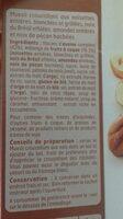 Muesli - Ingrediënten - fr