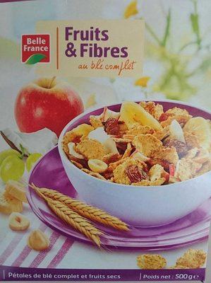 Fruits & fibres au blé complet - Produit - fr