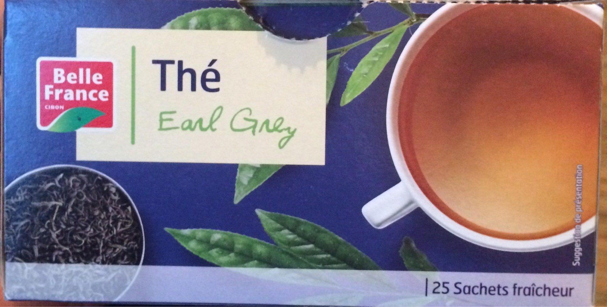 Thé Earl Grey - Product - fr
