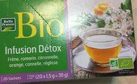Infusion Detox - Produit