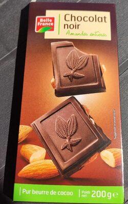 Chocolat Noir Amandes Entières Pur Beurre de Cacao - Produit
