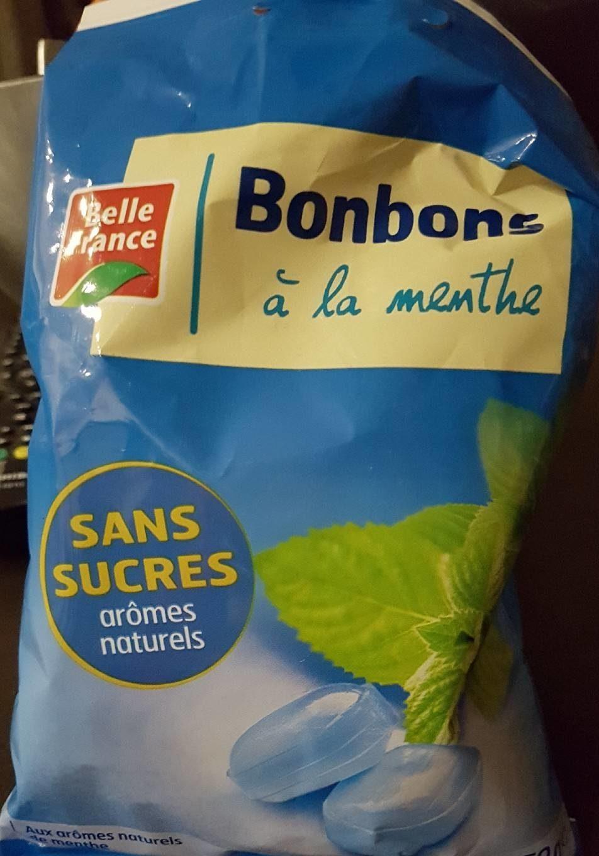 Bonbons a la menthe sans sucre - Produit - fr