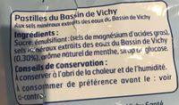 Sac.pastilles Du Bassin De Vichy 230 Belle France - 成分 - fr