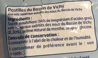 Sac.pastilles Du Bassin De Vichy 230 Belle France - 成分