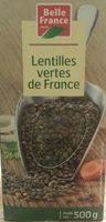Lentilles vertes de France - Product