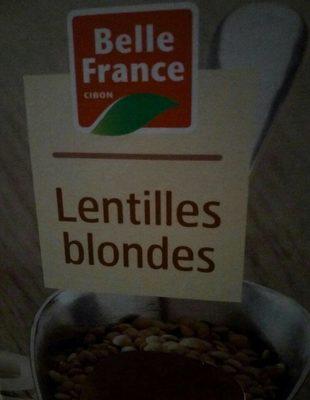 Lentilles blondes - Produit