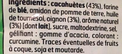 Cacahuetes enrobees - Ingrédients - fr