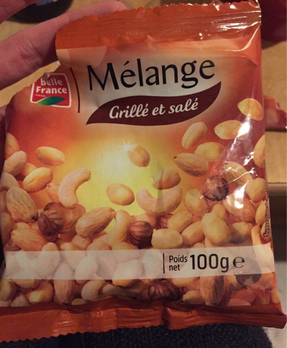 Melange grillé et salé - Produit