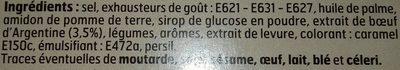 Bouillon Pot Au Feu - Ingrediënten - fr