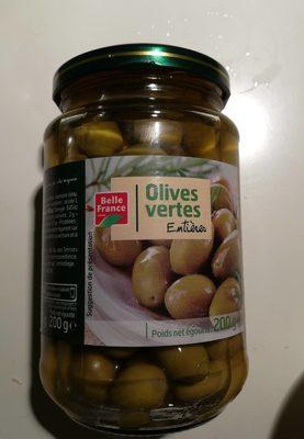 Olives Vertes entières - Produit - fr
