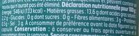 Olives noires  Dénoyautées - Nutrition facts - fr