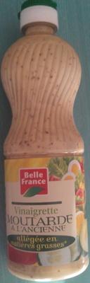 Vinaigrette moutarde à l'ancienne allégée en matière grasses - Produit