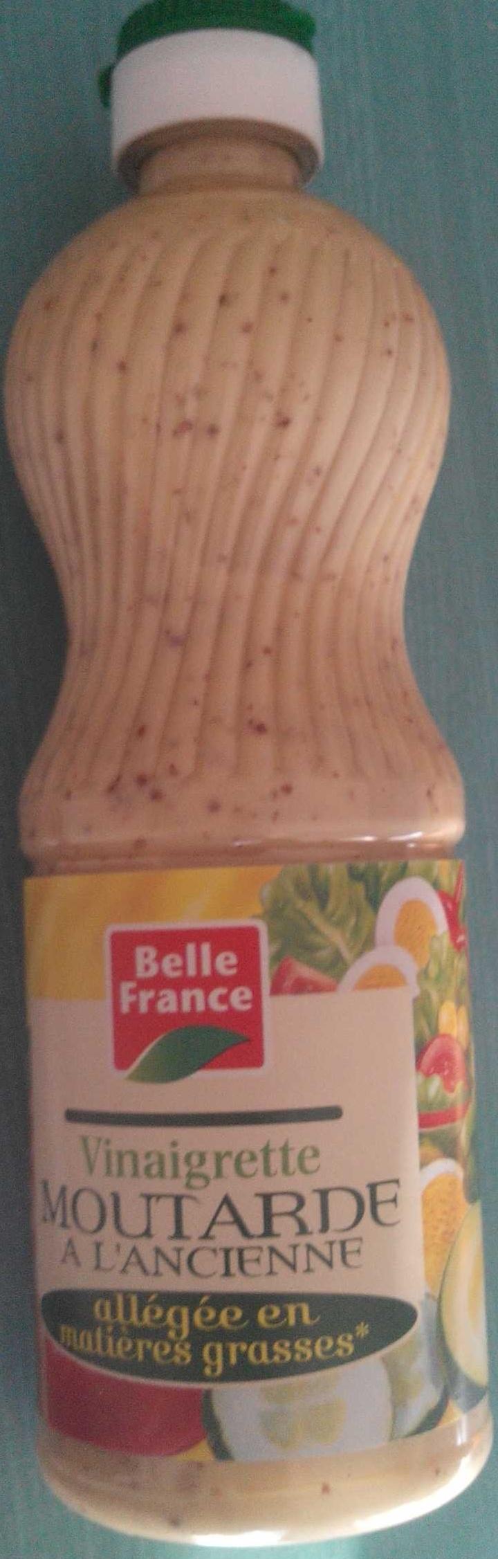 Vinaigrette moutarde à l'ancienne allégée en matière grasses - Produit - fr