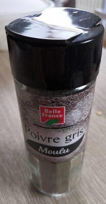 Poivre gris Moulu - Produit