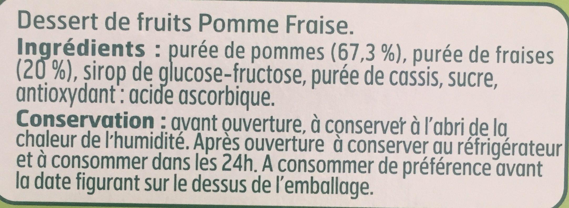 Compote Pom / Frais. - Ingrediënten