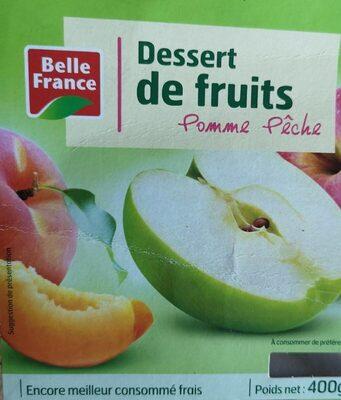 Dessert de fruits Pomme Pêche - Nutrition facts
