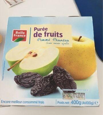 Compote Pom / Prun. S / S. - Produit - fr