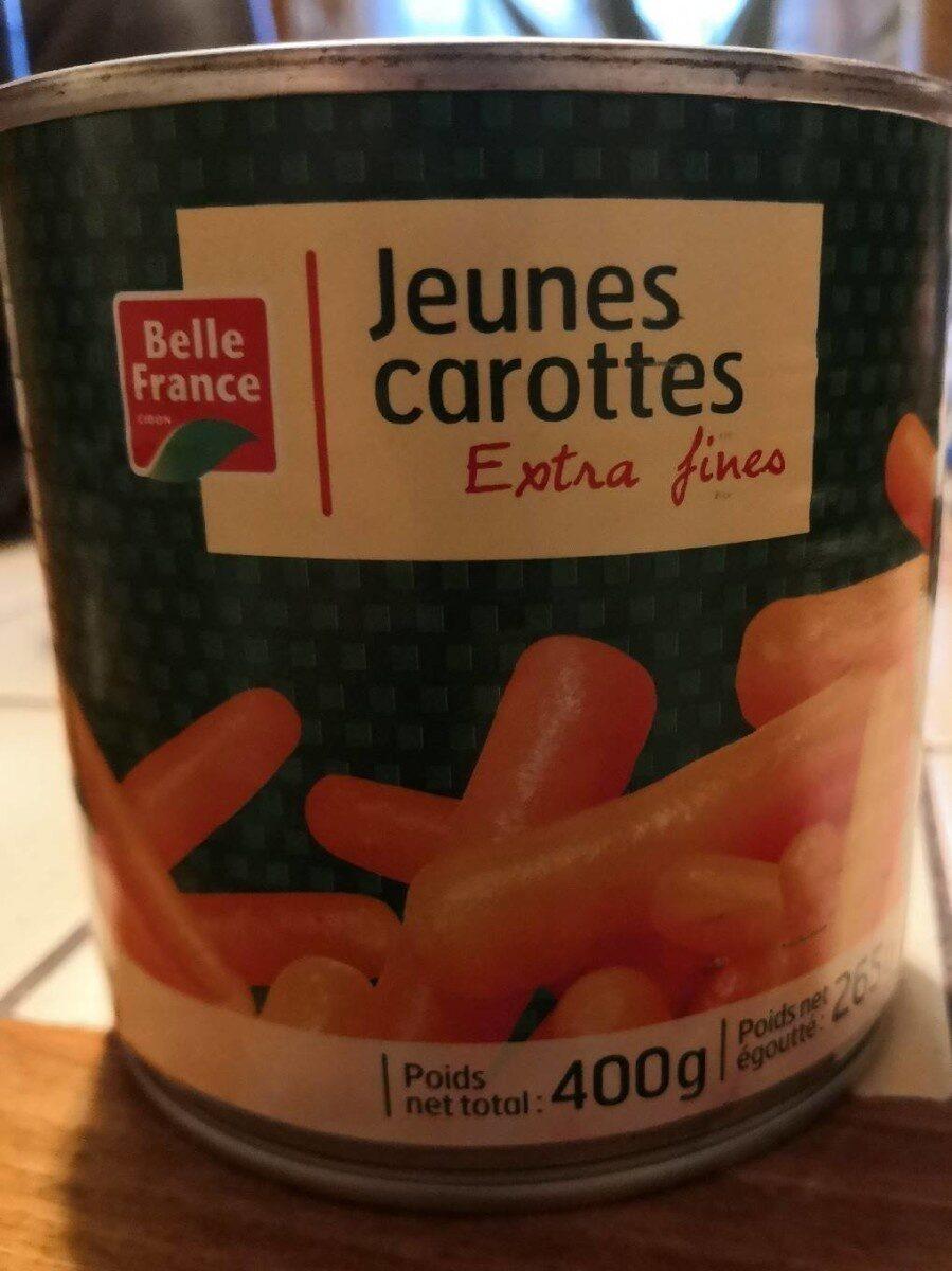 Jeunes carottes extras fines - Produit - fr