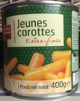 Jeunes carottes extra-fines - Produit - fr