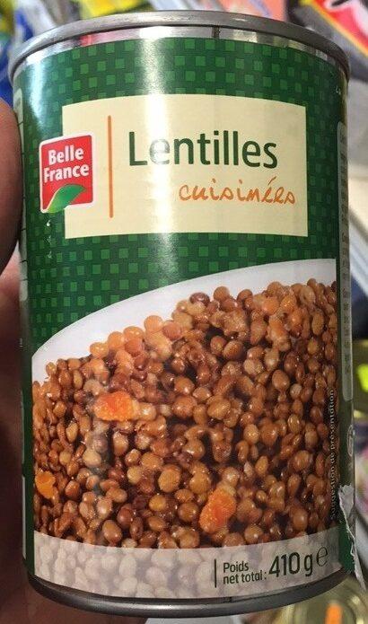 Lentilles, cuisinées - Prodotto - fr