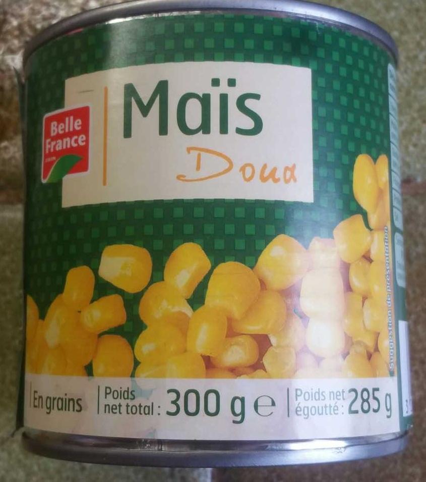 Maïs Doux - Produit