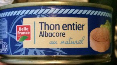Thon Albacore (Poisson) - Produit - fr