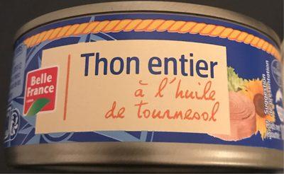 Thon à l'Huile de Tournesol 160 g - 2