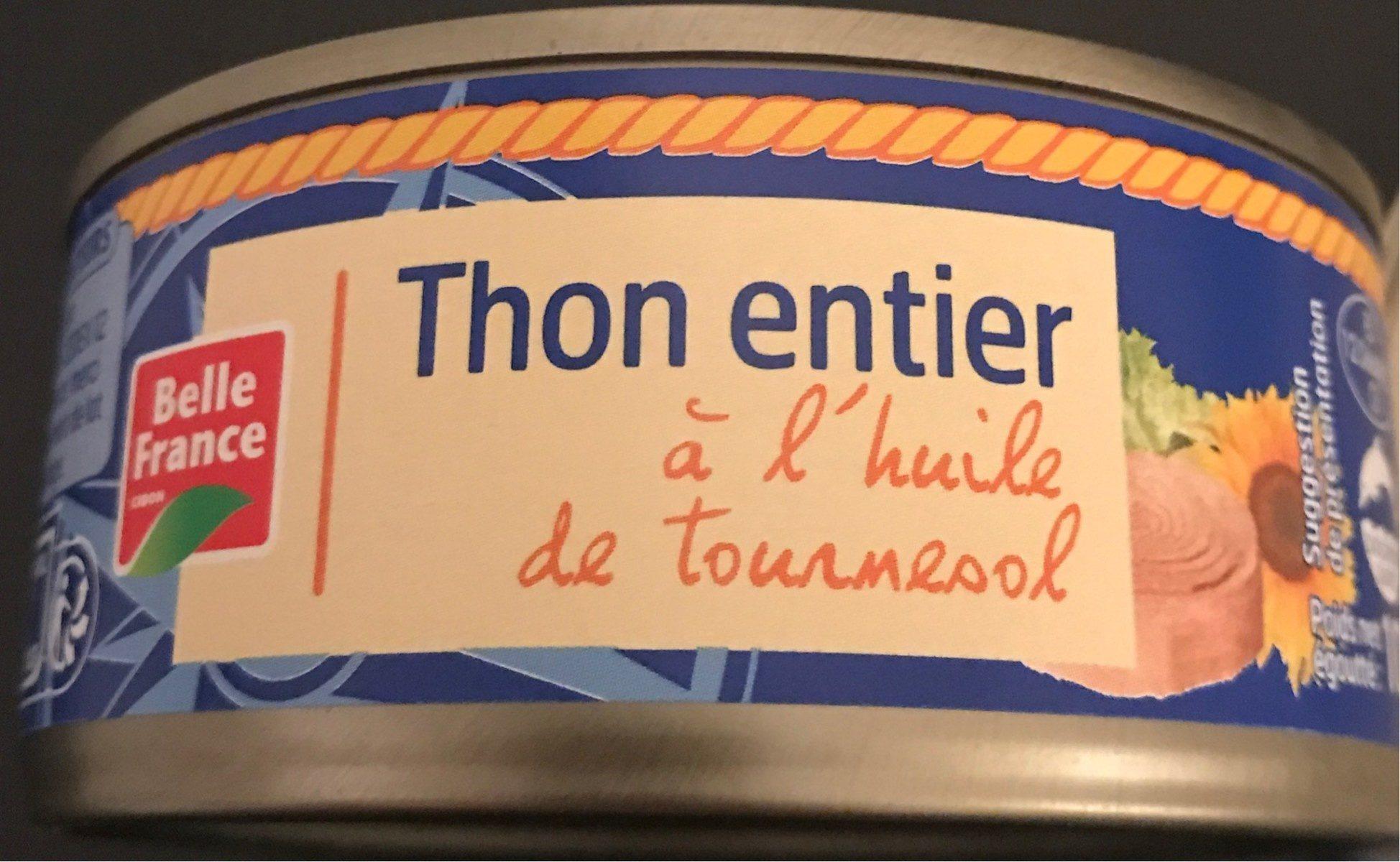 Thon à l'Huile de Tournesol 160 g - Produit - fr