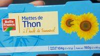Miettes de thon à l'huile de tournesol - Prodotto - fr