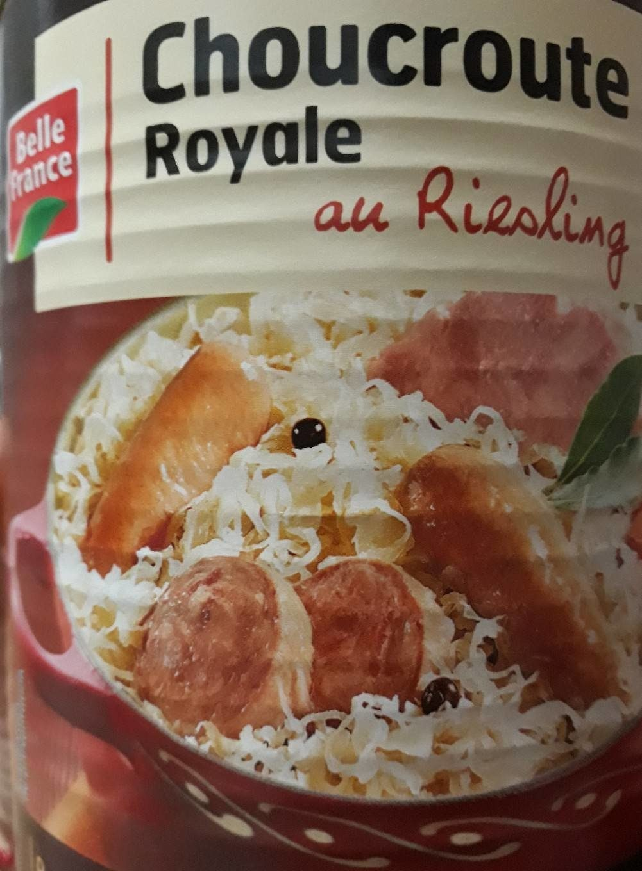 Choucroute Royale Au Riesling Belle France
