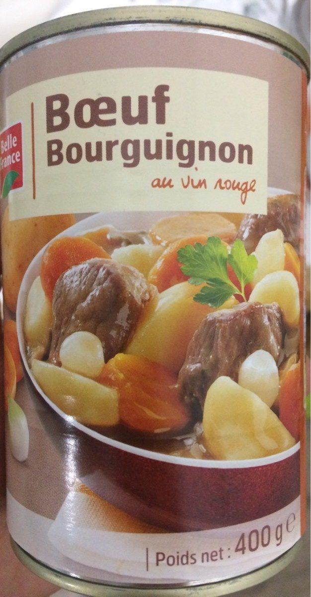 Bœuf Bourguignon au Vin Rouge - Produit