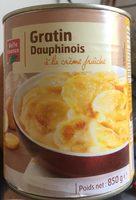 Gratin D'auphinois à la crème fraîche - Product