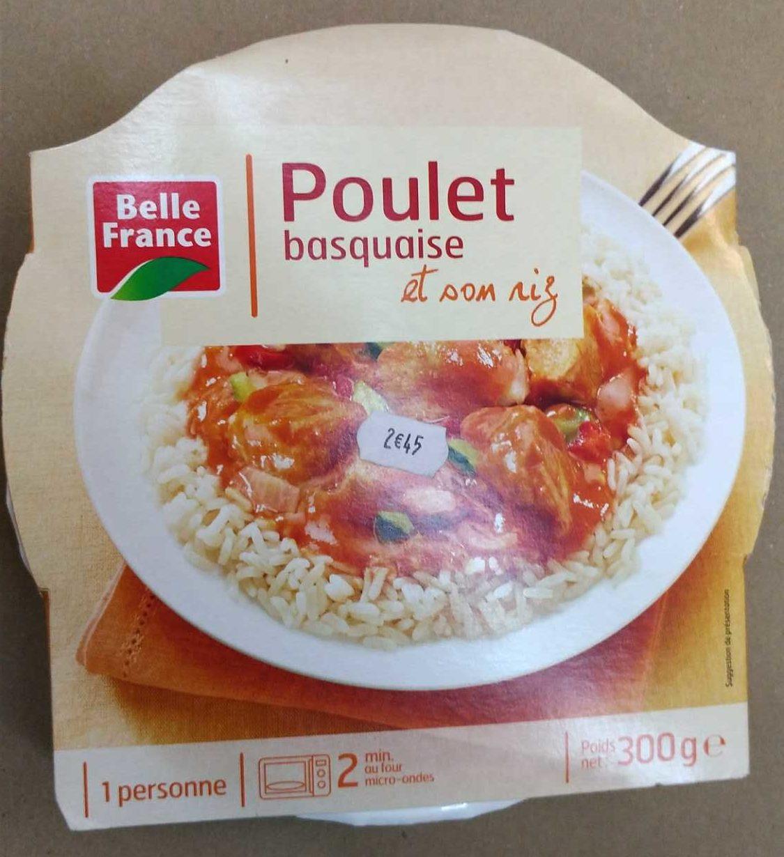 Poulet basquaise - Product