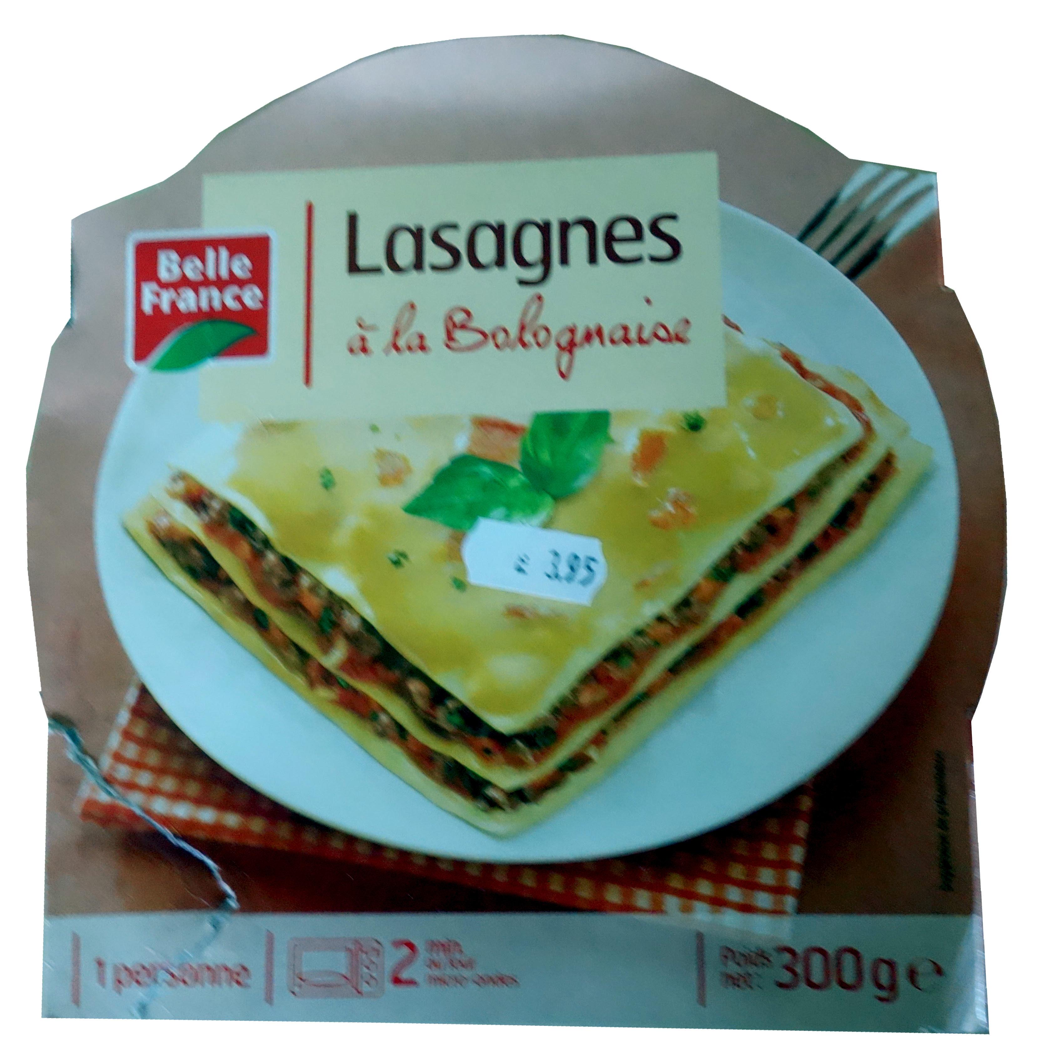 lasagne la bolognaise belle france 300 g. Black Bedroom Furniture Sets. Home Design Ideas