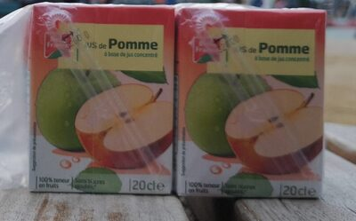 Briquettes Jus Pommes Abc 6X20CL - Prodotto - fr