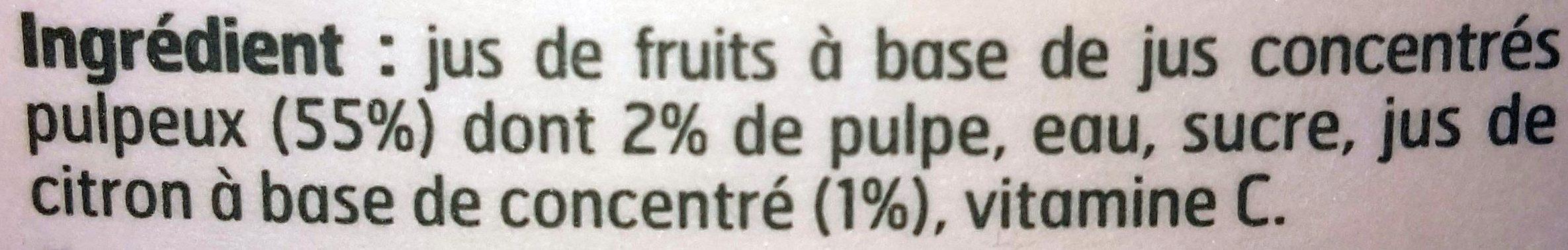 Nectar d'orange - Ingrédients - fr