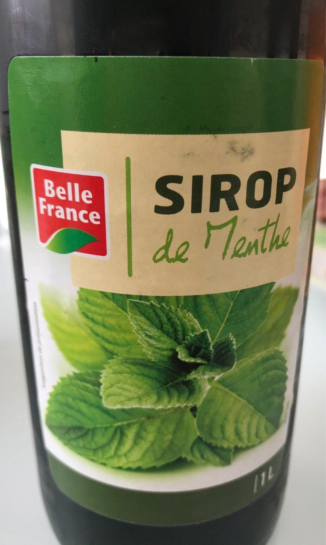 Sirop de Menthe - Produkt - fr
