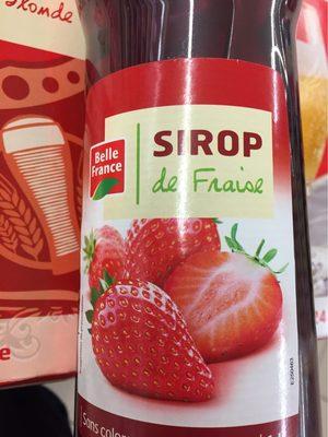 Sirop de Fraise - Produkt - fr